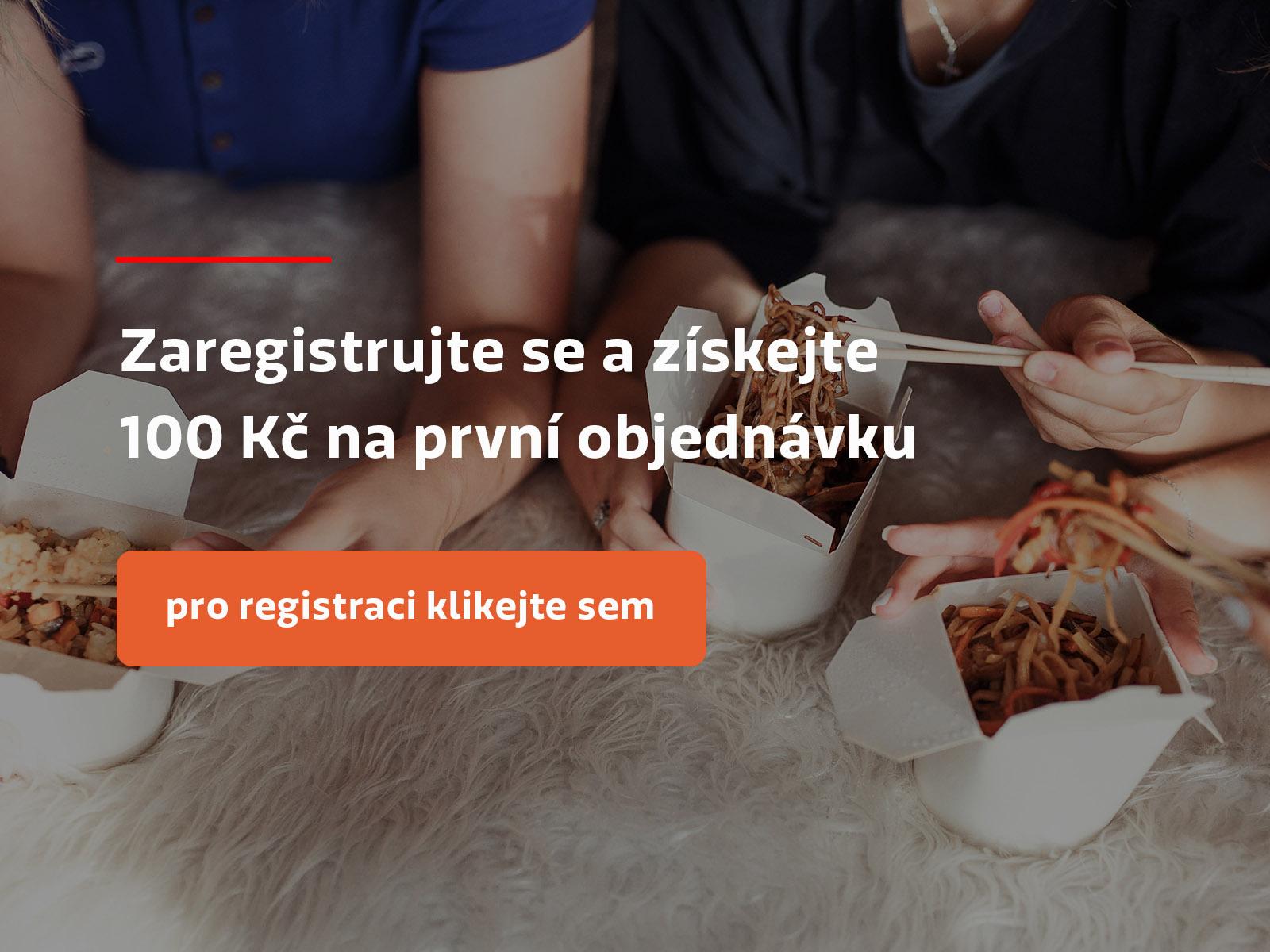 Zaregistrujte se a získejte 100 Kč na první objednávku - pro registraci klikejte sem